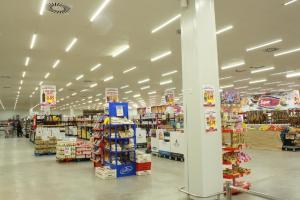 LED TUBE LIGHT 18W 120CM  RA>70  PF 0.6 AC85-265 INPUT VOLTAGE 1800LM GLASS MATERIAL