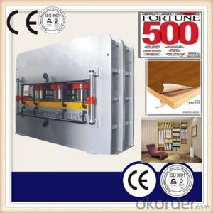 Wooden Furniture Skin Veneering Hot Press Machine