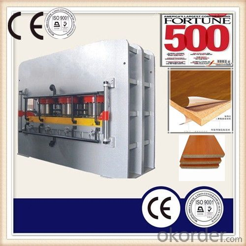 Wood Furniture Partical Board Laminated Machine