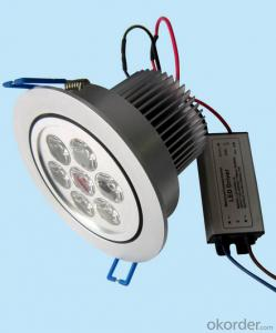 TUV CE SAA UL Ra>80 10w, 15W, 20W, 30w, 40w, 50w recessed Led Downlight Dimmable Cob 30w price