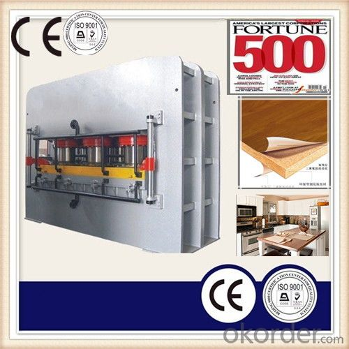 Hydraulic Wood Working Heat Press Machinery CE
