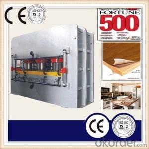 Hydraulic Wood Working Heat Press Machinery CE