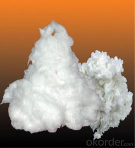 Ceramic Fiber Bulk CottonRefractory Insulation for Fireplace