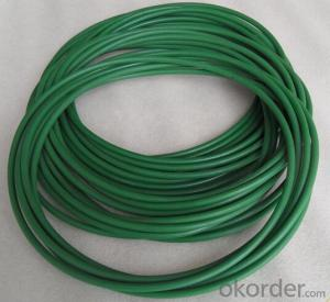 Textile Urethane Drive Belts / Urethane Round Belt Transmission Line