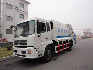 Compactor Garbage Truck 8m3 Waste