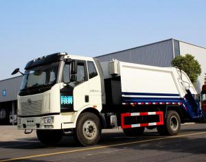 Compress Garbage Truck Low Price 4X2