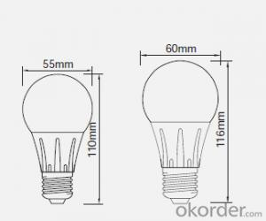 3W Indoor Led Bulb 3W 3.5W 4W 4.5W 5W 6W,Best Price,Hot Sales