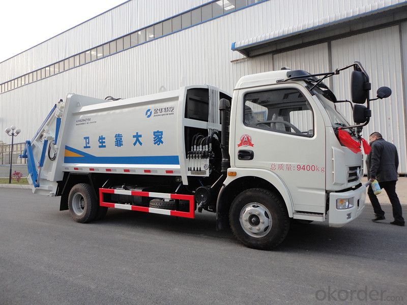 Garbage Truck 22m3 with China
