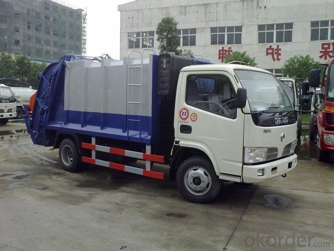 Compress Garbage Truck 4X2 LHD Drive 6m3