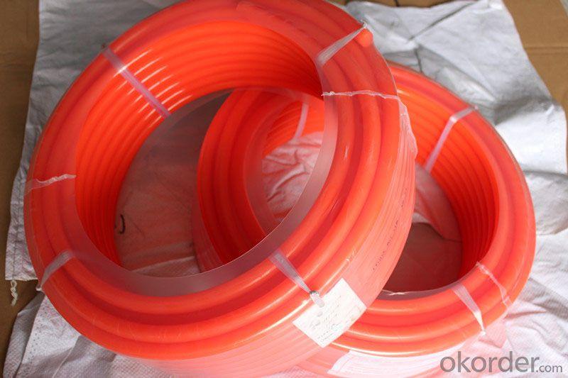 PU Smooth Round Urethane Round Belting wear-resistance or Ceramic