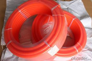 PU Smooth Round Urethane Round Belting wear-resistance or Ceramic