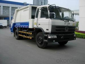 Compression Garbage Truck 5500-16000L Euro IV 4X2/6X4