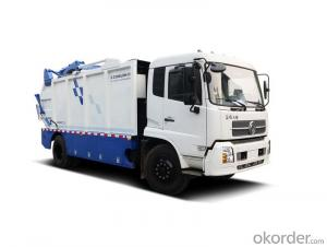 Compactor Garbage Truck  6X4 Rear