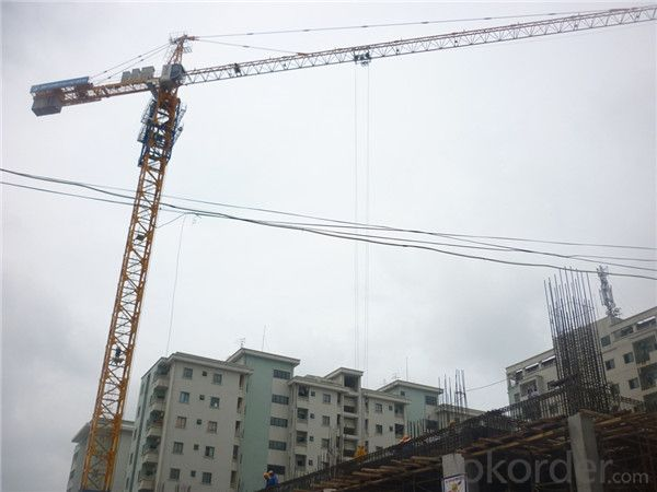 20 Tons Hammerhead Tower Crane for Construction
