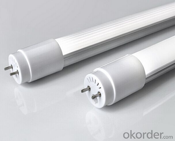 Removable End Cap Driver 600mm ac100-240V TUV 9w Led Tubes t8
