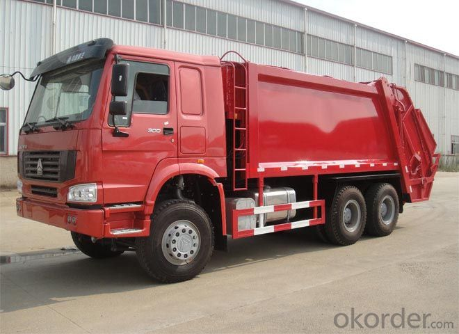 Garbage Truck High Quality Camc 6X4 European Type