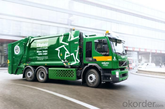 Garbage Truck 8 Ton Arm Roll  for Exportation