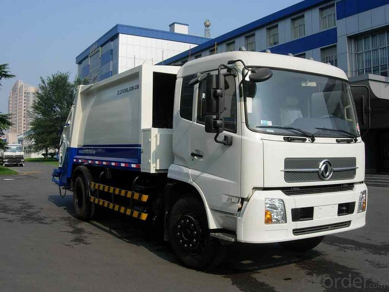 Garbage Truck Swz Swing Arm 5500-16000L Euro IV 4X2/6X4