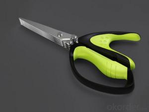 Wholesale Clothes Cutting Scissors with Plastic Handle