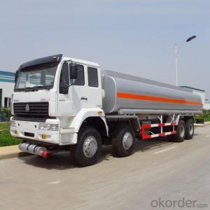Fuel Tank Truck with Oil Pump Fuel Dispenser