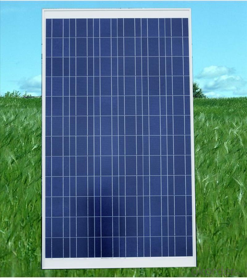 260W Polycrystalline Silicon Solar Panels