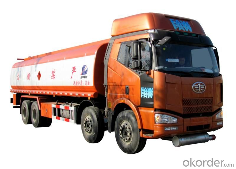 Fuel Tank Trucks Heavy Capacity 350HP 8X4