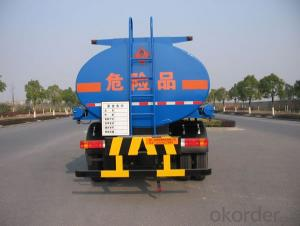 Fuel Tank Truck  Semi-Trailer 45m3 Aluminum Fuel Water 6X6