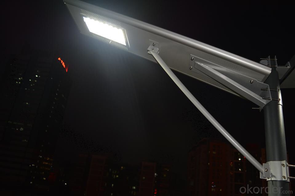 50W all in one integrated solar LED street light