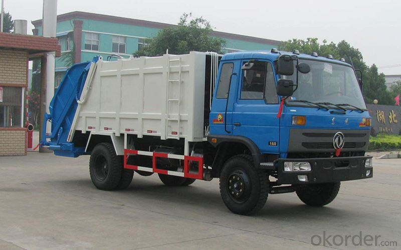 Garbage Truck China Garbage Compactor Truck, 4X2 Light