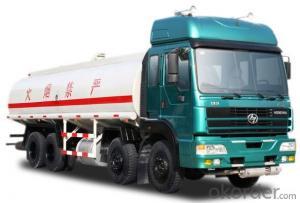 Fuel Tank Truck Heavy Duty 6 Wheels 10000liters  Oil Tank Truck
