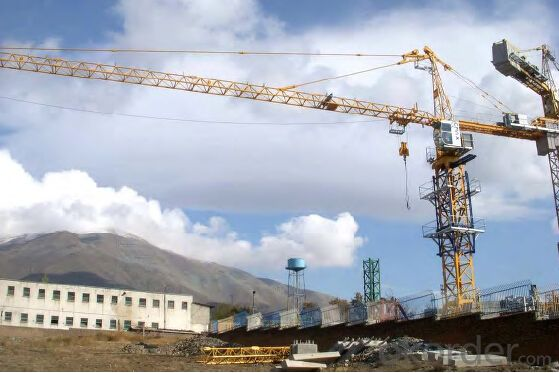 Model  D1500-63 Tower crane, Stepless Speed Regulation by Frequency Control