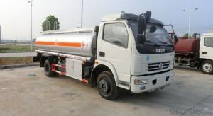 Fuel Storage Tank Truck 3 Axles Aluminum Alloy Conainer