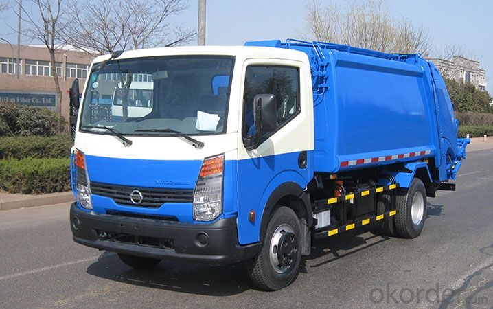 Garbage Truck  Rear Loaders Type  EQ1108 6tons
