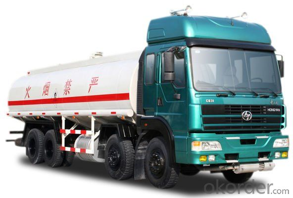 Fuel Tank Truck 6X4   for Sale 350HP 8X4 25000L