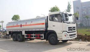 Fuel Tank Truck with Oil Pump Fuel Dispenser