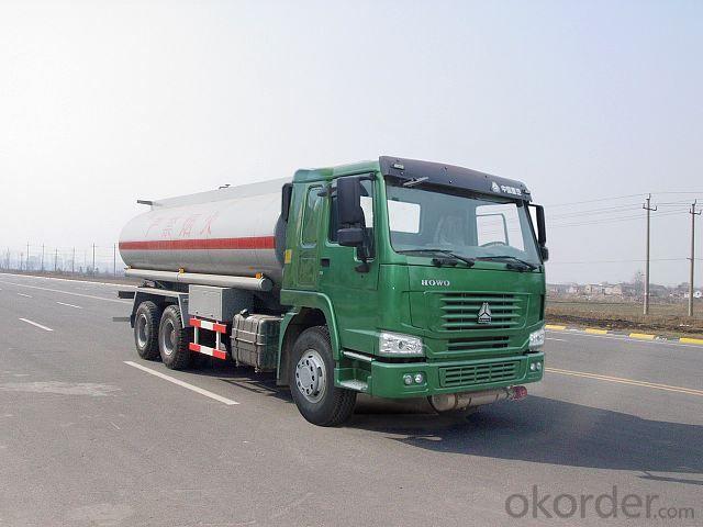 Fuel Tank Truck Brand 6*4 20t Oil Tank Truck
