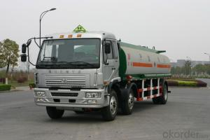 Fuel Storage Tank Truck 3 Axles Aluminum Alloy Conainer