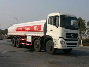 Fuel Tank Truck 10 Cbm Hand Drive 20cbm Capacity