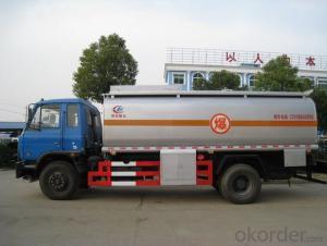 Fuel Tank Truck 4X2 12000L 15000L Oil Transport Tanker Truck