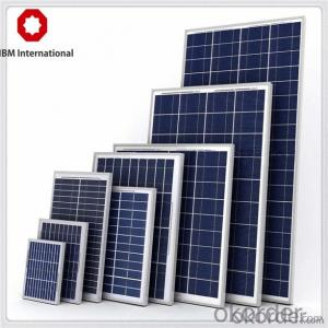 Solar Panel Poly 5W to 310W Hot Selling
