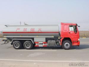 Fuel Tank Truck Chassis Similar 6X4  Tanker Truck