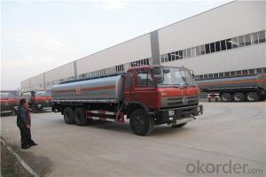 Tank Truck 26cbm 28cbm 30cbm Crude Oil Fuel Tanker Truck