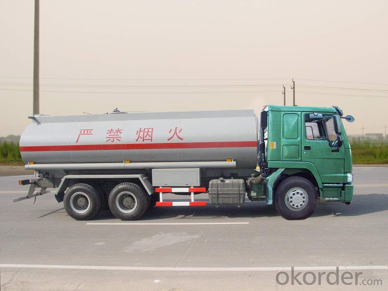 Fuel tank truck fueling truck steel semi trailer 25 60m3