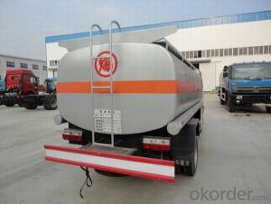 Fuel Tank Truck 8X4 40 Cbm Stainless Steel Full Traile