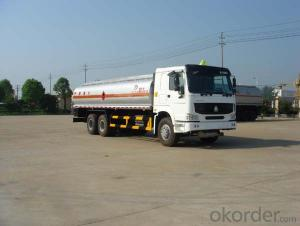 Fuel Tank Truck China Right Hand Drive 20cbm Capacity
