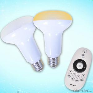 LED Bulb Led Remote Bulb2.4G Grouping LED Color Temperature PAR Lamp(9W Plastic Cover the Aluminum)