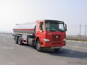 Fuel Tank Truck 6X4 18cbm Oil Transport Tanker Truck 20cbm