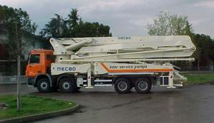 Concrete Pump  37m4r 380HP Trucks with Rhd Type