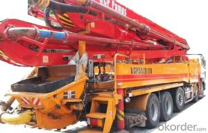 Concrete Pump Truck  Top Quality Truck Mounted of 52meters