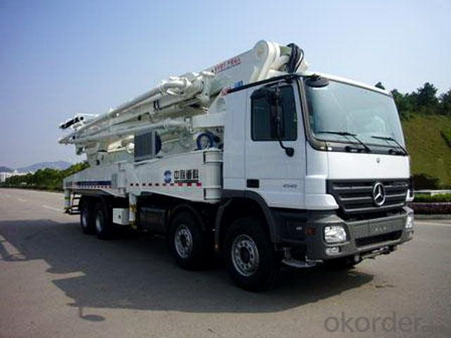 Concrete Pump Truck Camc 8*4 56m Cement